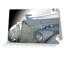 1940 Packard Super 8 160 Convertible Coupe Greeting Card