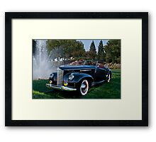 1941 Packard Darrin Model 180 I Framed Print