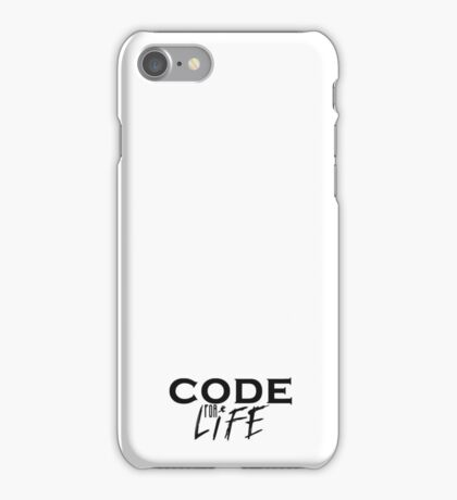 programmer - code for life iPhone Case/Skin