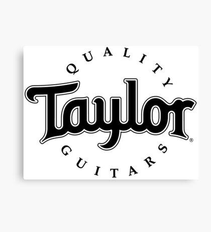 Taylor Guitars Canvas Print