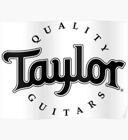 Taylor Guitars Poster