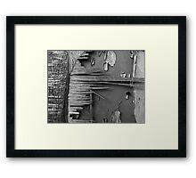 Splinters Framed Print