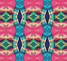 Colorful Pattern of Symmetry Sticker