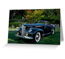 1941 Packard Darrin Model I80 II Greeting Card