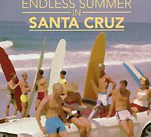 Endless Summer in Santa Cruz by Ozan Sezgin