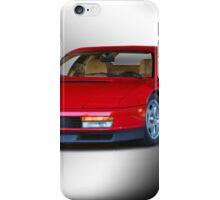 1987 Ferrari Testarossa iPhone Case/Skin
