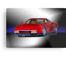 1987 Ferrari Testarossa Metal Print