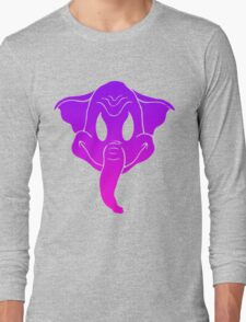 Elephantom (color only) Long Sleeve T-Shirt