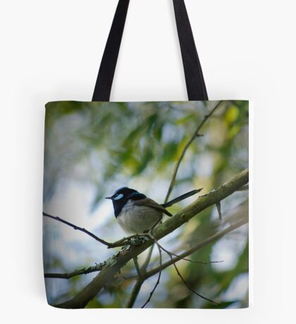 Male fairy wren 1 Tote Bag