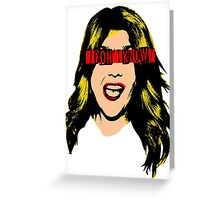 Pop Grace - Blond Greeting Card