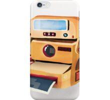 Polaroid Camera iPhone Case/Skin