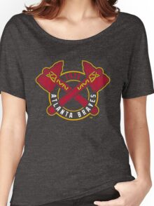 atlanta braves Women's Relaxed Fit T-Shirt