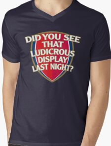 Did you see that Ludicrous display last night? Mens V-Neck T-Shirt