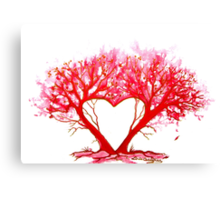 Heart of a Tree Canvas Print