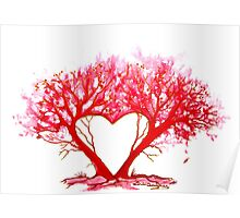 Heart of a Tree Poster