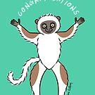 Lemur of Congratulations  by zoel