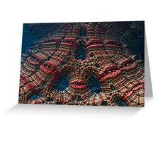 FL-fractal.lips-10 Greeting Card