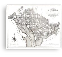 Washington-Washington DC-1800 Metal Print