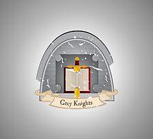 Grey Knights - Chapter - Warhammer by moombax