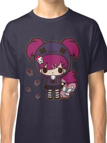 PASTEL GOTH GIRL WITH PENGUIN Classic T-Shirt