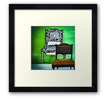 Empty spaces. Framed Print