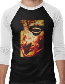 ROMAN EMPEROR AUGUSTUS IN SHARPIE MARKER Men's Baseball ¾ T-Shirt
