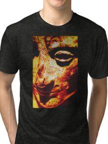 ROMAN EMPEROR AUGUSTUS IN SHARPIE MARKER Tri-blend T-Shirt