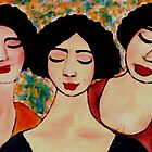 CLOSED EYED BEAUTIES by Mariaan M Krog Fine Art Portfolio