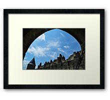 Arch enemy. Framed Print