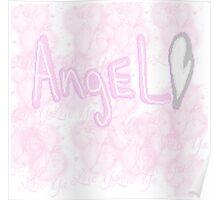 Pixel Angel Poster
