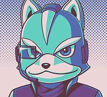 Fox McCloud Portrait by RedFlare