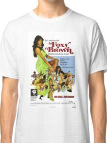 Foxy Brown (Blue) Classic T-Shirt
