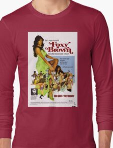 Foxy Brown (Blue) Long Sleeve T-Shirt