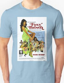 Foxy Brown (Blue) Unisex T-Shirt
