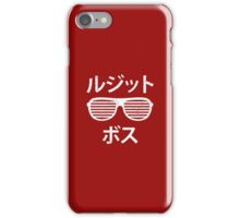 Legit Boss Katakana iPhone Case/Skin