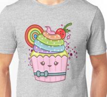 RAINBOW CUPCAKE Unisex T-Shirt