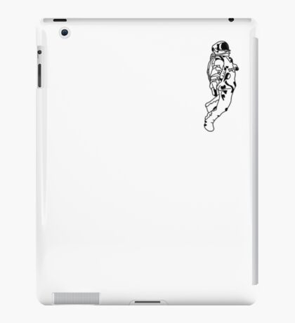 Minimalism - Black And White Astronaut iPad Case/Skin