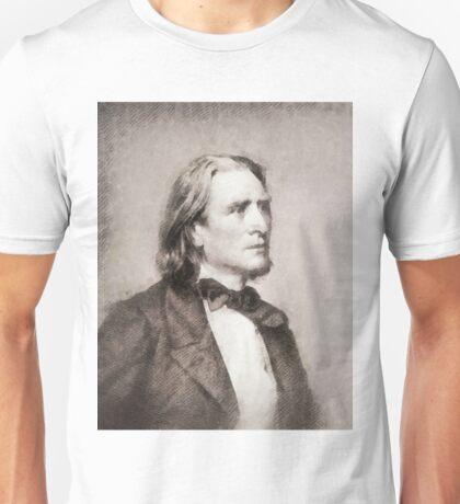 Franz Liszt, Composer Unisex T-Shirt