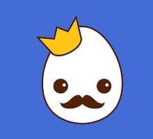 Kawaii Royal egg - The King by TriBrush