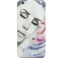 Lana Del Rey on Galaxy Background iPhone Case/Skin