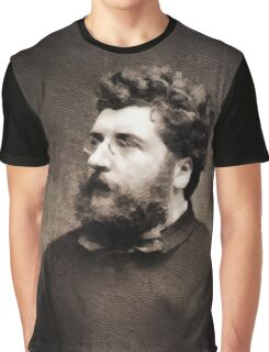 Georges Bizet, Composer Graphic T-Shirt
