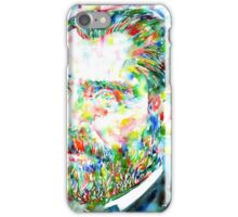 VAN GOGH - watercolor portrait iPhone Case/Skin