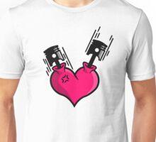 Heart Engine (2) Unisex T-Shirt