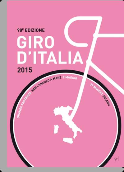 My Giro d'italia Minimal poster by Chungkong