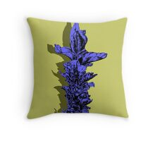 lavender purple Throw Pillow
