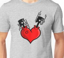 Heart Engine (4) Unisex T-Shirt