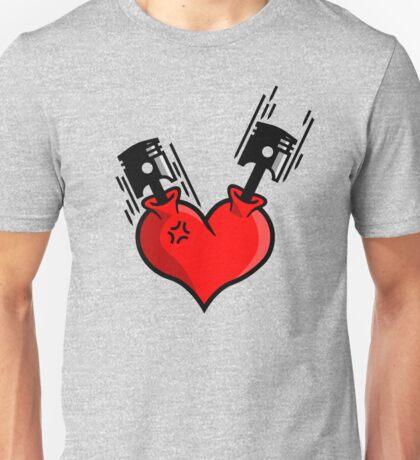Heart Engine (4) Unisex T-Shirt