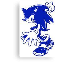 Sonic the Hedgehog [Blue] Canvas Print