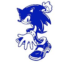 Sonic the Hedgehog [Blue] Photographic Print