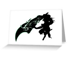 Riven - League of Legends - Black Greeting Card